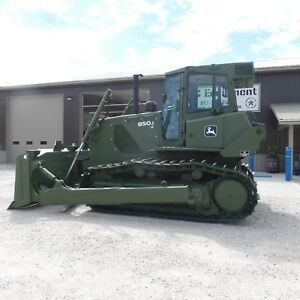 2008 John Deere 850jr Lt Dozer Clean Low Hours Ex Military 850k 850j