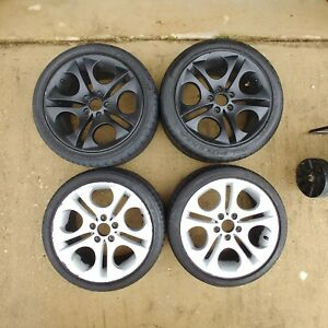 Bmw Style 202 18 Inch Staggered Set Of Rims And Tires