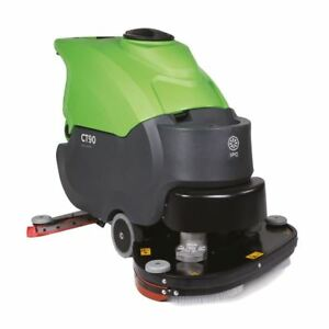 Ipc Eagle Ct90bt70 28 Traction Drive Automatic Scrubber W 240ah Battery Fr