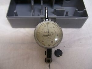 Interapid Dial Test Indicator 312b 1 0005 Swiss 74 111370 With Case