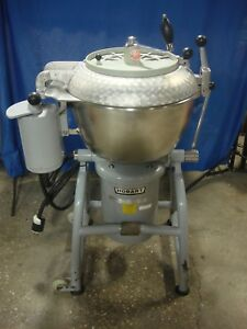 Hobart Vcm 40 Vertical Cutter Mixer Chopper Stephan 285280 Vcm 40 Pizza Dough