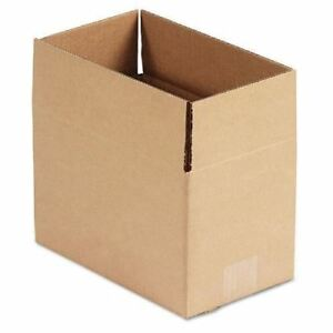 United Facility Supply Brown Corrugated Fixed depth Shipping Boxes Ufs1066
