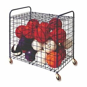 Champion Sports Lockable Ball Storage Cart
