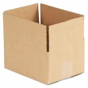 United Facility Supply Brown Corrugated Fixed depth Shipping Boxes Ufs864