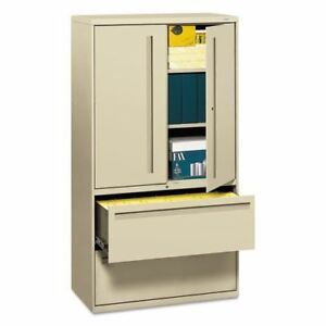 Hon Brigade 700 Series Lateral File With Storage Hon785lsl