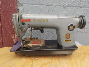 Industrial Sewing Machine Singer 251 11 Single Needle Pinker light Leather