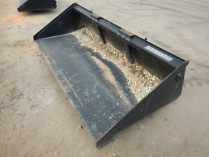 Blue Diamond 108180 84 Skid steer Ldr Long Bottom Smooth Bucket Stock 400333