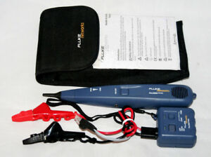 Fluke Networks Pro3000 Probe And Tone Generator With Abn Clips Plug New