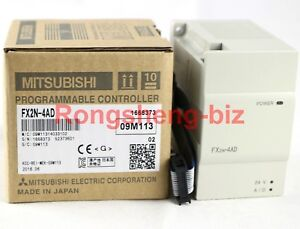New Mitsubishi Programmable Logic Controller Fx2n 4ad Fx2n4ad Module
