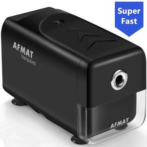 Electric Pencil Sharpener Super Safe Heavy Duty Blade W 3 Sharpening Settings