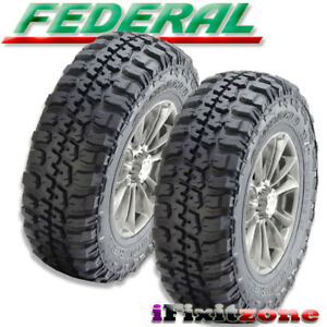 2 Federal Couragia M T 245 75 16 120 116q Owl 10ply All Terrain Mud Tires