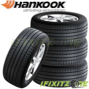 4 New Hankook H436 Kinergy Gt 215 55r17 94h Tires