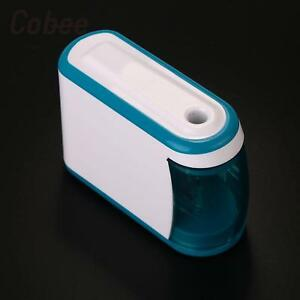 Electric Pencil Sharpener Automatic Battery Operated Powered Small