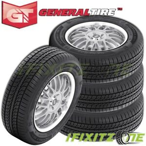 4 X New General Altimax Rt43 195 50r16 84h Tires