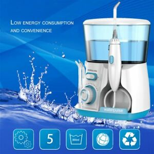 Waterpulse Water Jet Pick Flosser Oral Irrigator Teeth Cleaner Dental Care Spaus