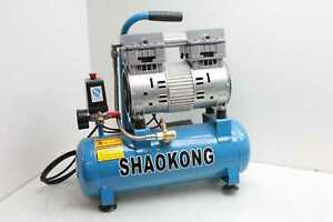 Shaokong Zwb 0 15 8 a Portable Horizontal Air Compressor 2 Gallon 230v 1 Hp