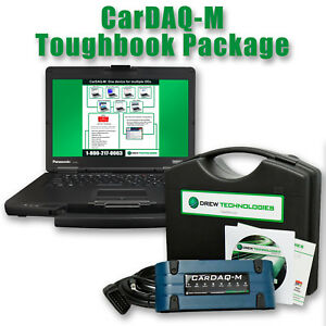 Cardaq m Touighbook J2534 Dealer Kit For Reprogramming Pass Thru Full Warranty