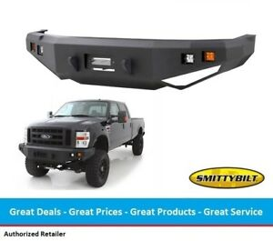 Smittybilt M1 Front Winch Bumper For Ford Superduty F250 F350 With Light Kit