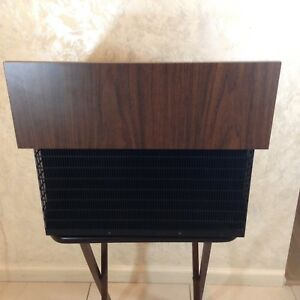 Vintage Perma Power Wood Lectern Lecture Stand Reading Pedestal Module S 520