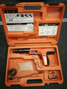 Ramset Cobra Plus Powder Actuated Fastening Tool W Case