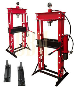 Heavy Duty 30 Ton Air Hydraulic Shop Press Floor Press Free Shipping