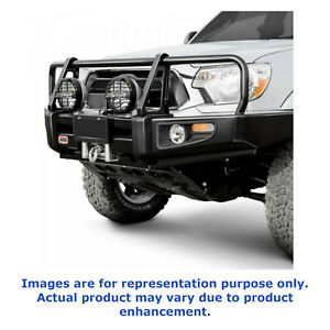 Arb Universal Deluxe Full Width Black Front Bumper With Grille Guard 3412470
