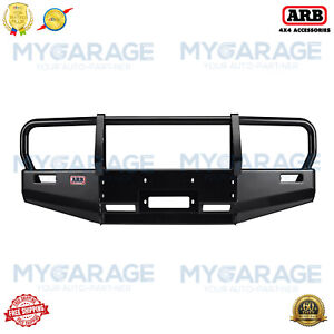 Arb Front Winch Hd Bumper With Grille Guard Deluxe Full Width Black 3423020