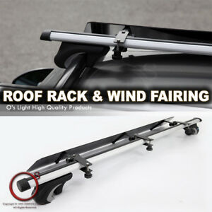 Rail Tower Roof Top Mount 48 Crossbar Rack wind Fairing For Silhouette