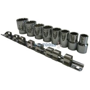 8pc 1 2 Laufwerk Whitworth Socket Set Wit Schiene