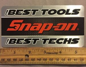 Snap on The Best Tools The Best Techs Decal Sticker