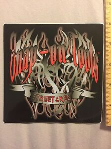 Snap On Tools Streetcred Decal Sticker 5 X 5