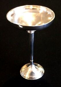 Watson Sterling Silver Compote 7 5 Oz Total 3 75 Oz Of Sterling Silver 7 5 In