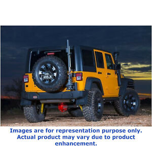 Arb For 2007 15 Jeep Wrangler Full Rear Bumper With Tire Carrier Mount 5650370