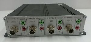 Acti Acd 2200 4 channel Mpeg 4 Video Encoder With 2 way Audio Working
