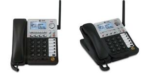At t Synj Sb67158 Dect 6 0 4 line Corded cordless Small Business Phone
