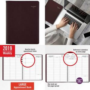 At a glance 2019 Weekly Planner Appointment Book 8 1 4 X 11 Large