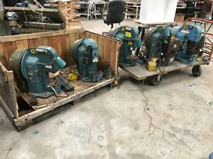 Amp o lectric Terminating Crimping Press Machine Model K Being Sold Individually