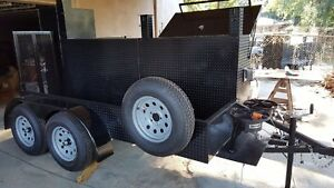Mega Big Foot Bbq Smoker Trailer Food Truck Mobile Catering Concession Vending
