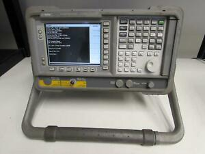 Agilent E4411b Esa l Spectrum Analyzer 1 5 Ghz Opt B72 1dp 227 1ax 75 Ohm
