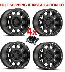 4 18 18x9 Method Vex Wheels Rims Matte Black 6x139 7 6x5 5 Fuel Vision Xd Moto
