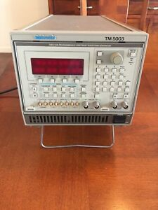 Tektronix 5105 Awg Dual Output With 5003 Main Frame Very Good Condition