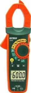 Extech Ex650 True Rms 600a Clamp Meter With Ncv