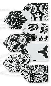 1500 Assorted Black White Paper Price Tags 1 1 16 X 1 String Merchandise