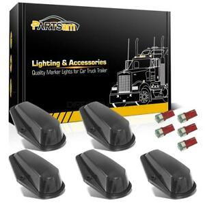 5 Cab Clearance Black Lights 5050 Red 168 Leds For Ford F 150 F 250 F 350 80 97