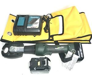 New Greenlee Gator Ek425l Hydraulic 6 Ton Crimping Tool Cjd3 Jaw With Batteries