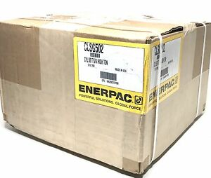 Enerpac Clsg 502 Single acting 50 ton Hydraulic Cylinder With 2 Stroke Rc 502