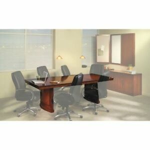 Conference Room Tables 8 Rectangular Bourbon Cherry