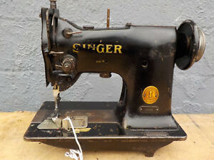 Industrial Sewing Machine Model Singer 151w3 Single Walking Foot Light Leather