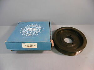 Martin Bushing Bore V belt Pulley 3 5v 1030 Sf 3 Grooves New