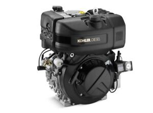 Kohler Kd420 1001a 9 8 Hp Diesel Engine With Recoil Start And 1 Keyed Shaft